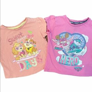 ✨3 for $30✨Paw Patrol 2T Girls Graphic Tees